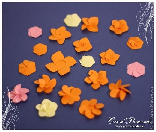 Как сделать из самоклеющейся бумаги цветы