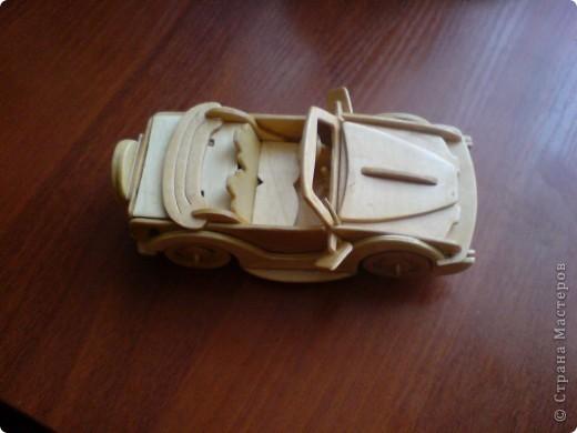 Поделки для мальчиков Выпиливание: Модели автомобилей Фанера. Фото 12