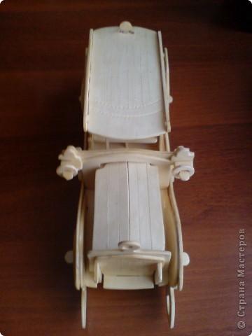 Поделки для мальчиков Выпиливание: Модели автомобилей Фанера. Фото 4