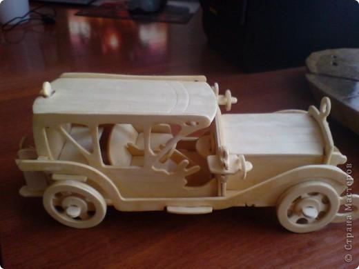 Поделки для мальчиков Выпиливание: Модели автомобилей Фанера. Фото 5