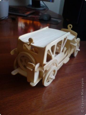 Поделки для мальчиков Выпиливание: Модели автомобилей Фанера. Фото 8