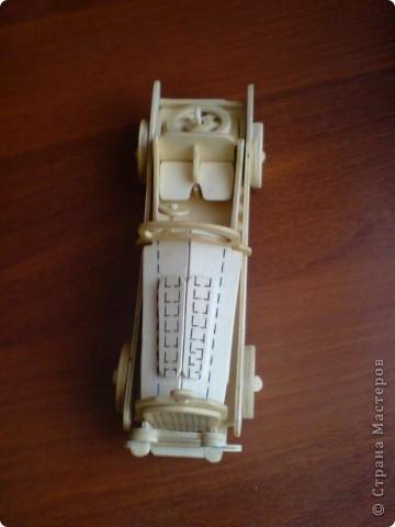 Поделки для мальчиков Выпиливание: Модели автомобилей Фанера. Фото 6