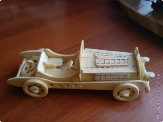 Поделки для мальчиков Выпиливание: Модели автомобилей Фанера. Фото 7