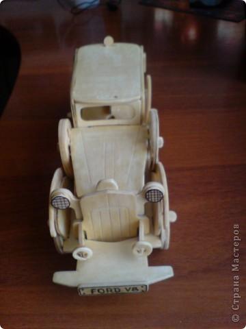 Поделки для мальчиков Выпиливание: Модели автомобилей Фанера. Фото 9