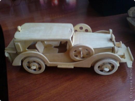Поделки для мальчиков Выпиливание: Модели автомобилей Фанера. Фото 10