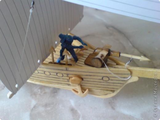 Поделки для мальчиков Выпиливание: По морям по волнам Фанера. Фото 7