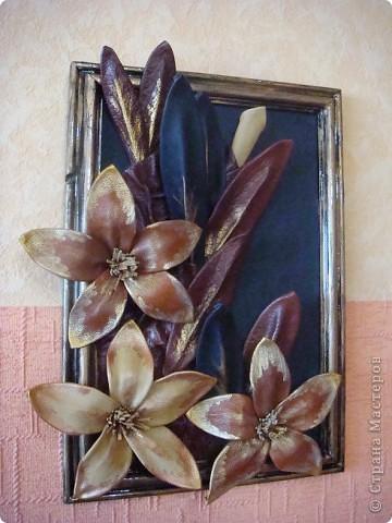 Картина, рисунок, панно: картины из кожи Кожа.  Фото 12.