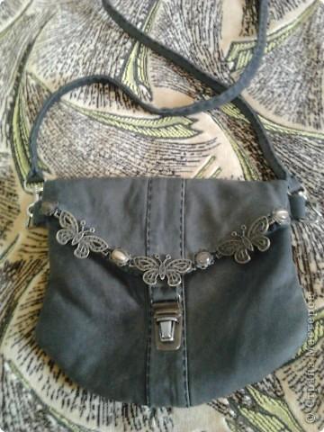 Гардероб Шитьё: сумочка из кожи Кожа.