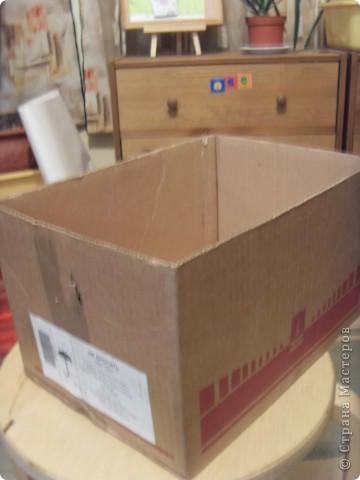 Скрапбукинг Аппликация: Коробка для музыкальных инструментов.  Бумага. Фото 2