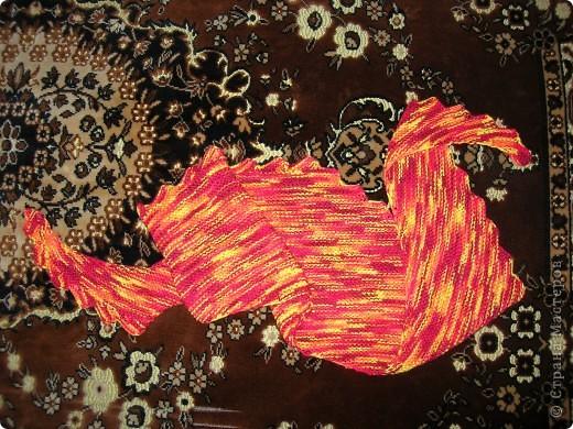 Гардероб, Мастер-класс Вязание спицами: МК Диагональный бактус с двумя зубчатыми краями Пряжа. Фото 1