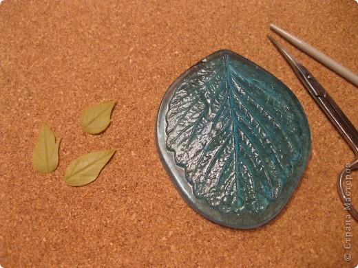 Мастер-класс Лепка: Анемоны МК №2 Фарфор холодный. Фото 10