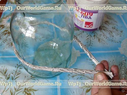 Мастер-класс Плетение: Мастер-класс ажурная корзинка из газетных трубочек. Бумага газетная. Фото 3