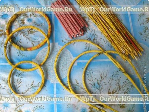Мастер-класс Плетение: Мастер-класс ажурная корзинка из газетных трубочек. Бумага газетная. Фото 5