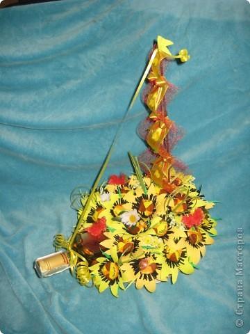 Свит-дизайн Бумагопластика: Подсолух! День рождения. Фото 1