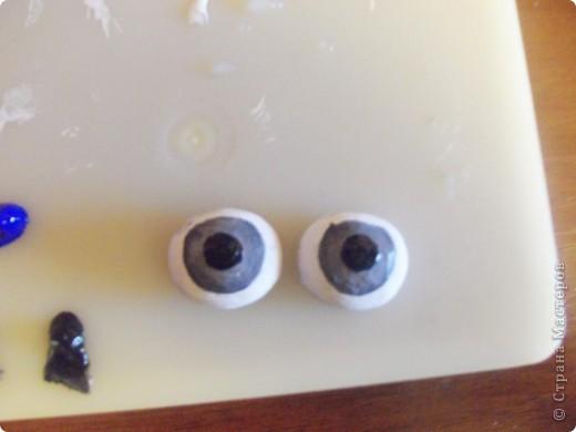 Мастер-класс Шитьё: МК по глазкам Капрон. Фото 4