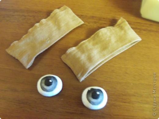 Мастер-класс Шитьё: МК по глазкам Капрон. Фото 8