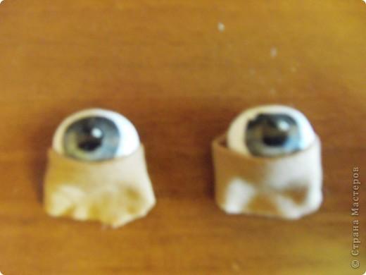 Мастер-класс Шитьё: МК по глазкам Капрон. Фото 10