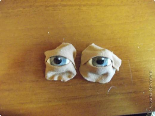 Мастер-класс Шитьё: МК по глазкам Капрон. Фото 11