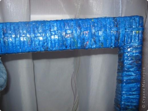 Мастер-класс Плетение: вешалка из старого стула Бумага газетная. Фото 8