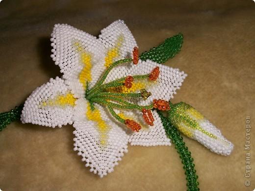 схемы плетения лилии из бисера