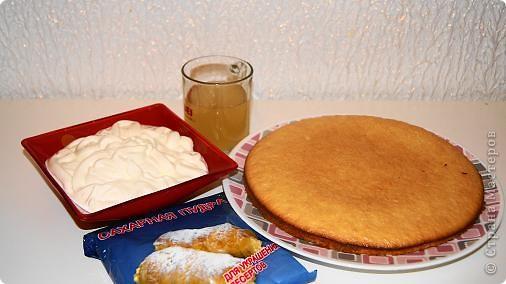 Кулинария Рецепт кулинарный: Торт без выпекания Продукты пищевые День рождения. Фото 2