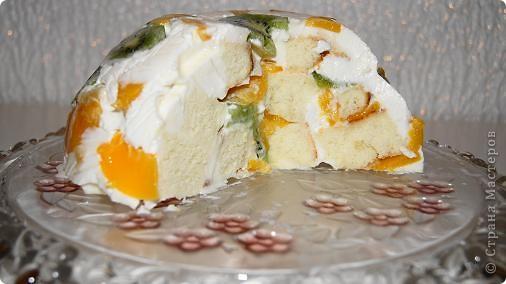 Кулинария Рецепт кулинарный: Торт без выпекания Продукты пищевые День рождения. Фото 5