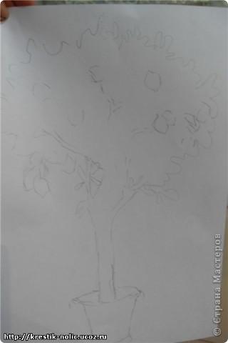 Картина, панно, Мастер-класс, Поделка, изделие Лепка: Лимонное дерево, или как его делала я Тесто соленое 8 марта, День рождения, День учителя. Фото 5