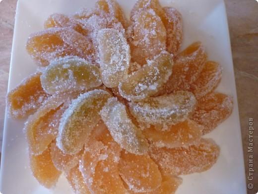 Кулинария, Мастер-класс Рецепт кулинарный: Цитрусовые сахарные дольки - наслаждение))) Овощи, фрукты, ягоды. Фото 1