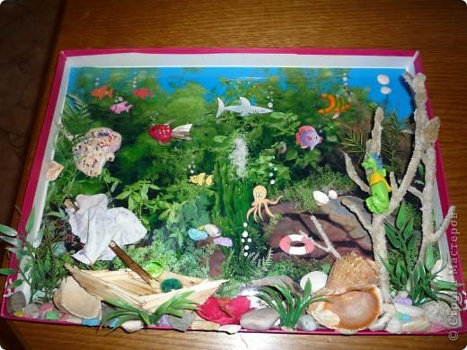 Как сделать с ребенком аквариум