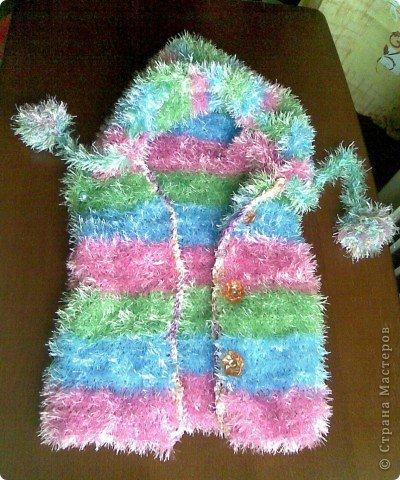 жилеты женские травкой - Вязание.
