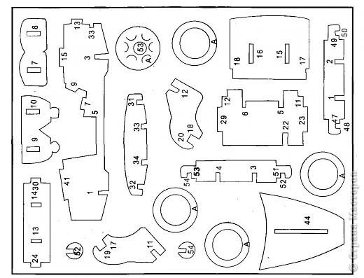 Поделки для мальчиков Выпиливание: Модели автомобилей Фанера. Фото 18