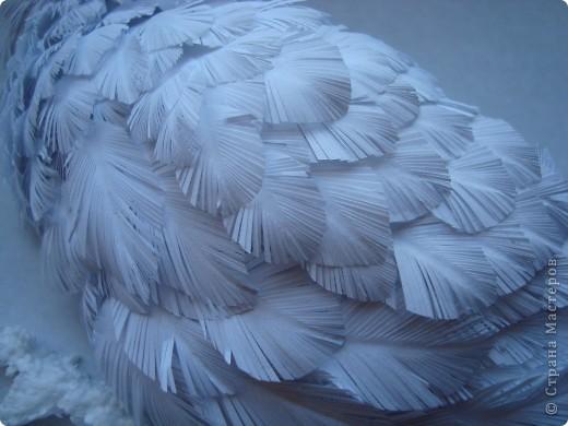 Поделка, изделие Бумагопластика: Моя совушка Бумага. Фото 2