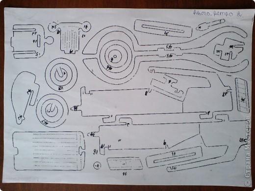 Поделки для мальчиков Выпиливание: Модели автомобилей Фанера. Фото 15