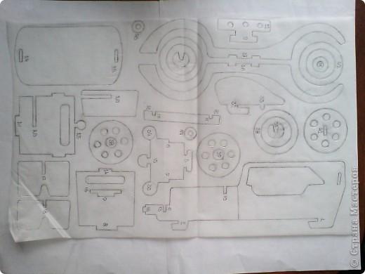 Поделки для мальчиков Выпиливание: Модели автомобилей Фанера. Фото 17