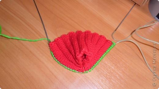 Мастер-класс, Презент от Голубки Вязание: Тапочки