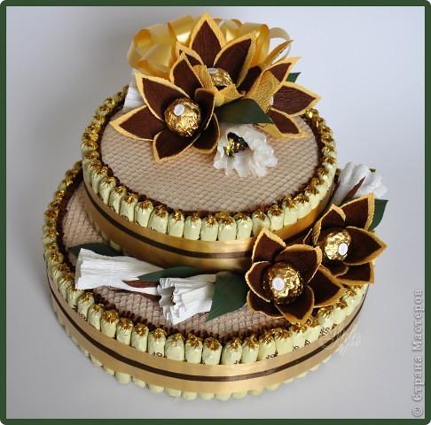 Торты из конфет своими руками для начинающих