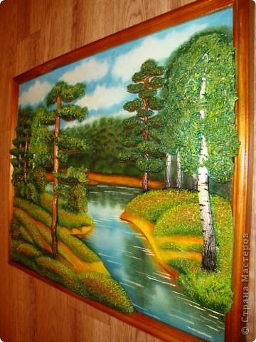 Картина, панно Лепка: Природа и (повторюшка) Тесто соленое. Фото 3