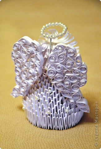 Оригами модульное: Ангел