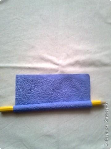 Мастер-класс Гофротрубочки: изготовление букетов из салфеток Салфетки. Фото 4