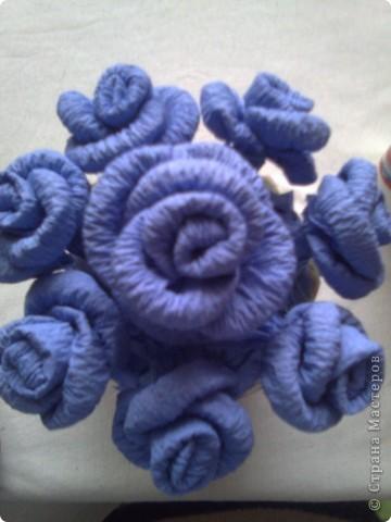 Мастер-класс Гофротрубочки: изготовление букетов из салфеток Салфетки. Фото 18