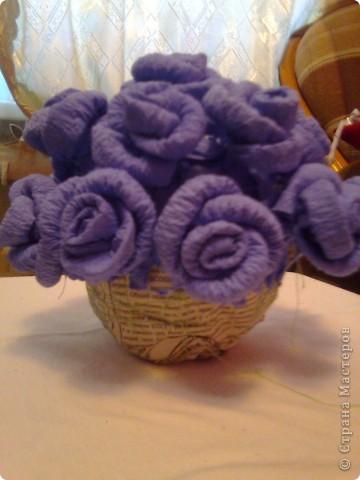 Мастер-класс Гофротрубочки: изготовление букетов из салфеток Салфетки. Фото 19