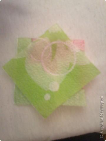 Мастер-класс Гофротрубочки: изготовление букетов из салфеток Салфетки. Фото 20
