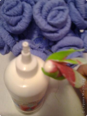 Мастер-класс Гофротрубочки: изготовление букетов из салфеток Салфетки. Фото 22