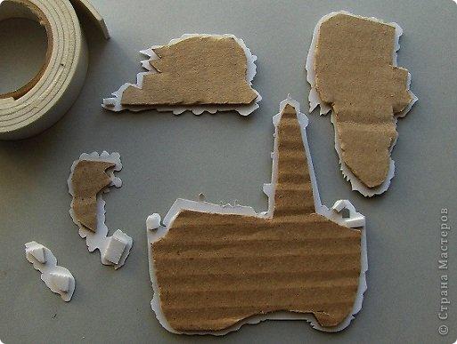 Мастер-класс Вырезание: 3D картины и 3D открытки Бумага. Фото 4