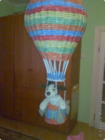 Поделка воздушный шар своими руками