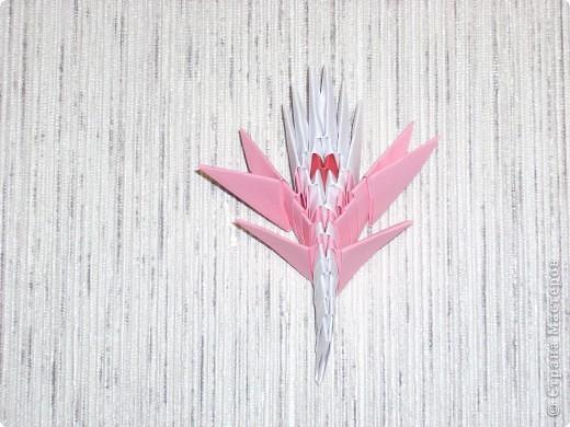 Мастер-класс Оригами модульное: Динозаврик Бумага Новый год. Фото 6