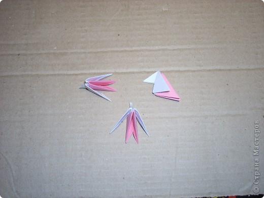 Мастер-класс Оригами модульное: Динозаврик Бумага Новый год. Фото 26