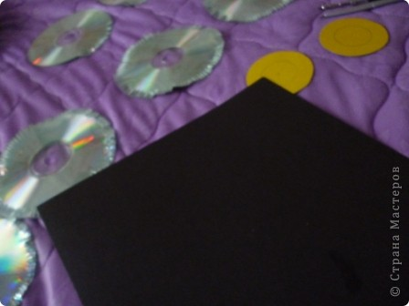 Мастер-класс: Делаем сову из CD дисков (МК) Идея взята по картинке из Интернета (фото ниже) Диски компьютерные. Фото 9