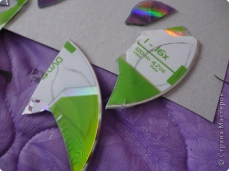Мастер-класс: Делаем сову из CD дисков (МК) Идея взята по картинке из Интернета (фото ниже) Диски компьютерные. Фото 18