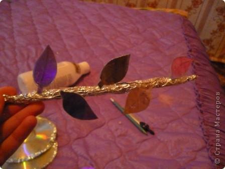 Мастер-класс: Делаем сову из CD дисков (МК) Идея взята по картинке из Интернета (фото ниже) Диски компьютерные. Фото 26
